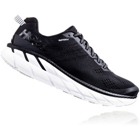 Hoka One One Clifton 6 Running Shoes Men, black/white